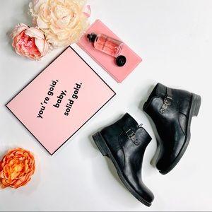 BareTraps 'Caine' Black Ankle Boots